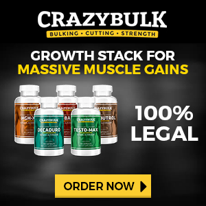 Crazy Bulk Canada Growth Stack Buy 2 Get 1 Free