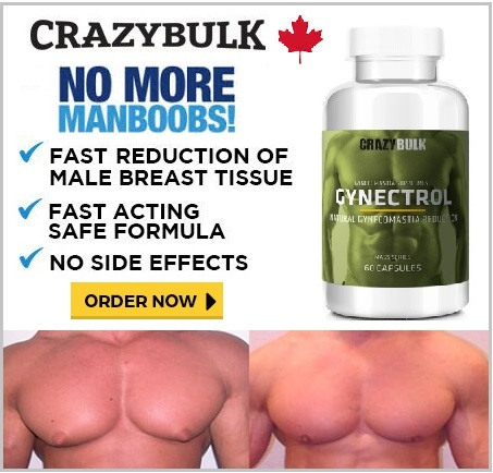Crazy Bulk Canada Gynectrol for Man Boobs